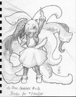 10 Free Sketches 012 - Boobl by lanyu