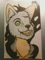 Halloween Spooky Badge- Narc by scars-cry-blood