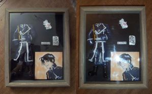 Colonel Mustang Shadowbox by Smitkins
