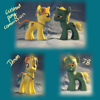 Commission: Dream and Jb by Nissatron5000