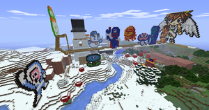 More of my creations in Minecraft: 2 by Chaoslink1