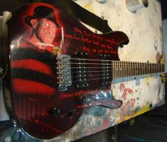 airbrush guitar by MarcoRudeliAirbrush