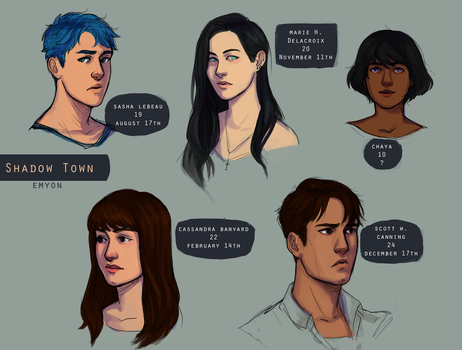St characters pt.1 by Emyon