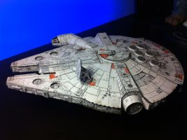 Millenium Falcon Papercraft_Final_05 by Ohnhai