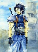 CCFFVII - Zack Fair by Impelsa