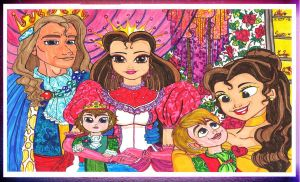 The Queen and The King and the little Fernando by Dream-Angel-Artista