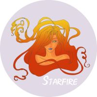 Starfire by Digital-Cataclysm