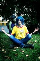 GoRiLLaZ Cosplay 2D Meditation by Murdoc-lein