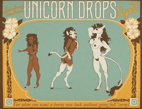 Unicorn Drops Lite: Horny But Not Too 'Corny by nothere3