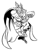 Thor by mistermuck