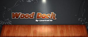 Wood Dock iPhone by Laurent38
