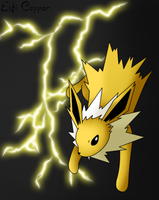 Cool sparks - Jolteon by Eifi--Copper