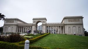 Legion of Honor Front of Building by noodlebaka
