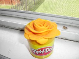 play doh flower by greengal14