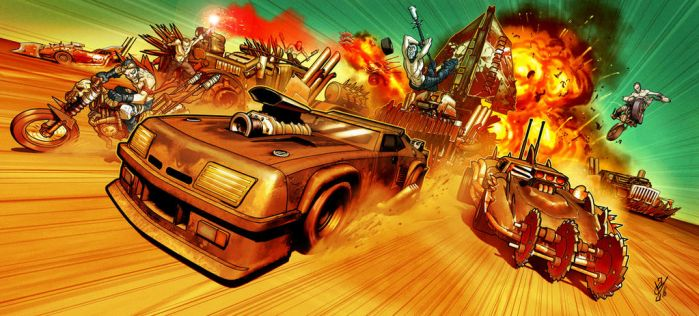 Mad Max Chase update by DazTibbles