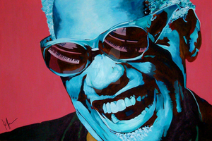 Ray Charles by Flashback33