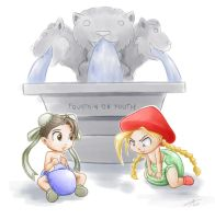 Fountain of Youth by The-Padded-Room