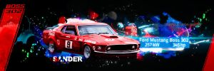 Ford Mustang Boss 302 by P3doBear