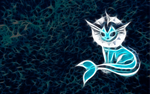 Vaporeon Wallpaper by PorkyMeansBusiness