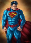 New 52 Superman by faynster