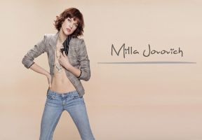 Milla Jovovich by ArtSlash13