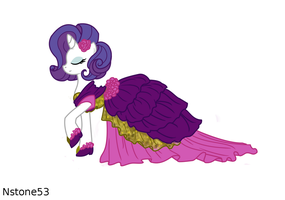 Rarity Gala Dress by Nstone53