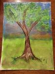 Tree Painting by SerendipityDucky