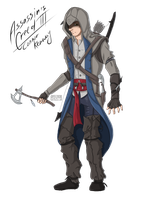 Connor Kenway by Green-EyedGhost