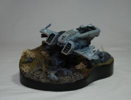 Tau Piranha Display - Front by Night-Spectre81