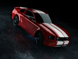 Ford Mustang GT by Moonstricken