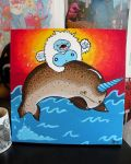 The Yeti and the Narwhal by loveandasandwich