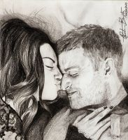 Mila and Justin by tahiz