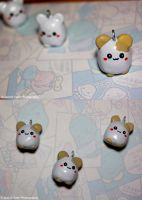 Little Hamster Charms by sweetcivic