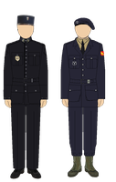 Vichy Police National and Milice francaise  un by camorus----234