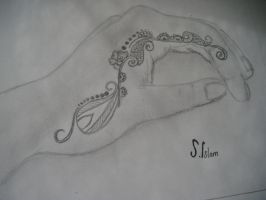 henna design for hand by xe2x