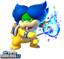 New Super Mario Bros. U: Ludwig von Koopa by Legend-tony980