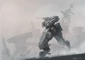 mecha sketch by ProgV