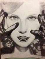 Portrait of Candice Accola by Hachipurple