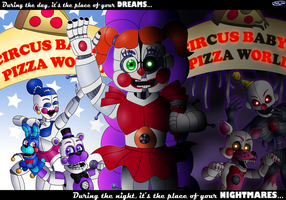 The Perfect Pizza Place by FNaF2FAN