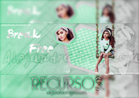 [Recursos] Break Free. by AlejandraArely