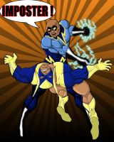 Black Lightning Black Vulcan by Toe-Knee-Bee-Ears