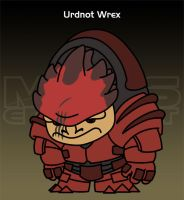 Mass Effect - Urdnot Wrex by criz