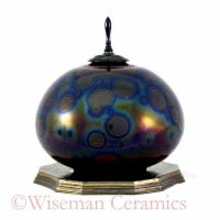Crystalline Glaze Ceramic Art by Jess-Wiseman