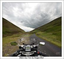 Riders Eye View by SnapperRod
