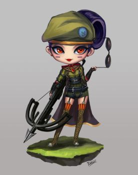 Chibi Special Force Vayne by PuddingzZ