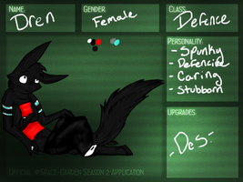 Dren Application by Wolfchick36