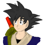 Goku by Colliequest