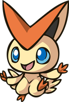 Chibi Victini by iPhysik