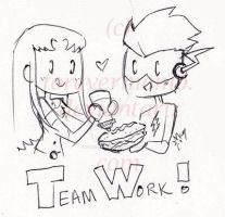 TT - Mustard Double Team by ForeverMoMo