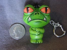 Froggy Keychain by ReverendBonobo